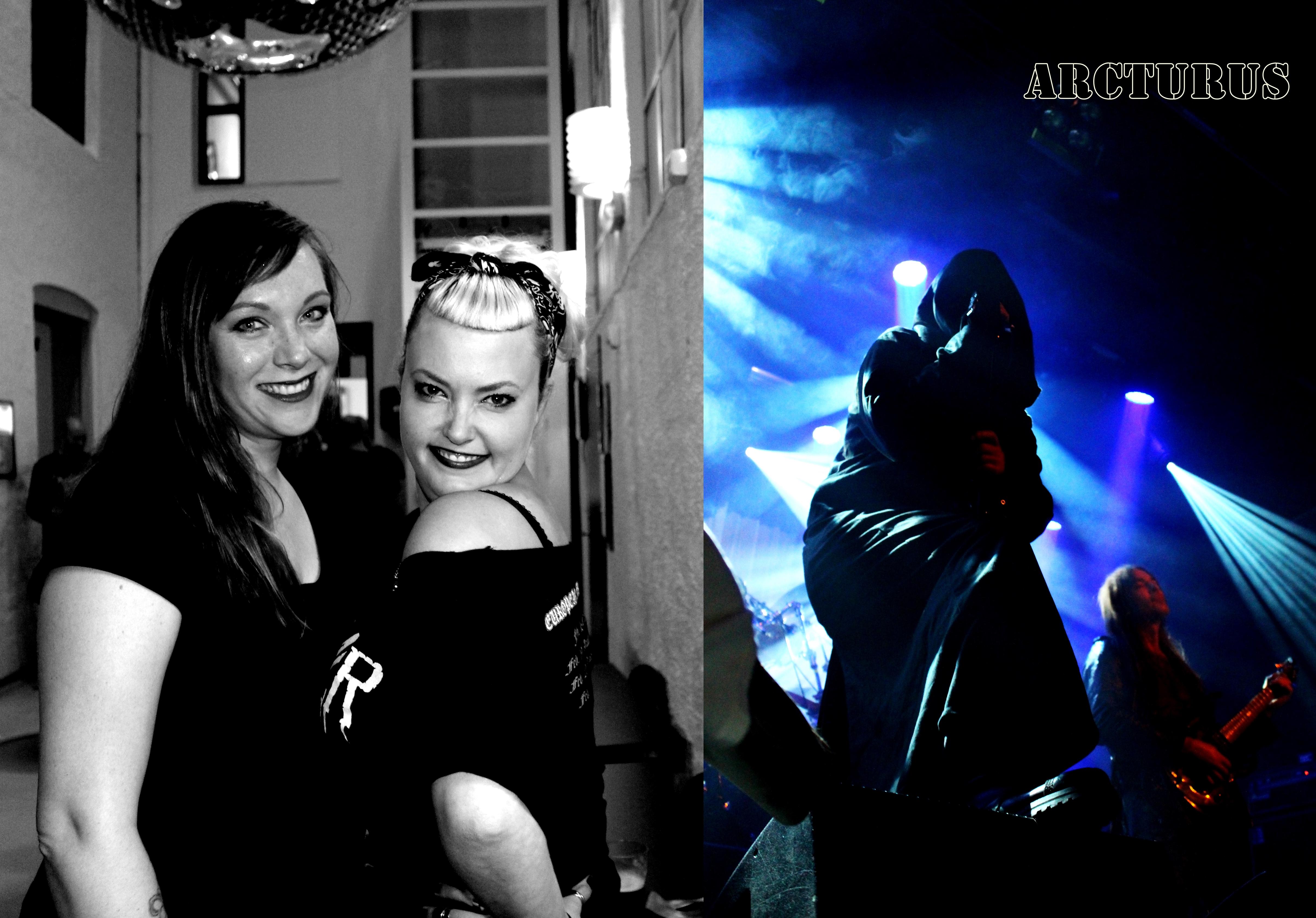 Synnøve Sørensen og Kristin Krabbestig har mye godt å si om Arcturus (Foto: Vigdis Meidell).